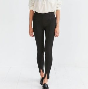 Silence + Noise high rise black skinny pants